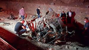 Niğdede feci kaza 3 ölü, 2 yaralı