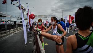 Vodafone istanbul Yarı Maratonundan kareler