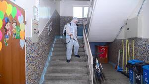 Kahramankazan'da okullarda temizlik