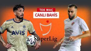 Süper Ligin yenisi Hatayspor, Fenerbahçe karşısında Sarı-lacivertlilerin iddaa oranı...