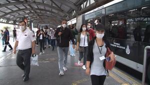 Minikler okula başladı... İşte İstanbulda sabah trafiği