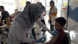 İlk kez bu yıl milyonlarca çocuk okulda değil aile hekimliklerinde aşı olacak