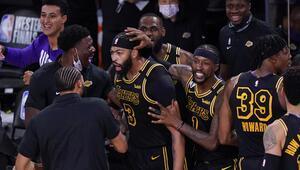 NBAde Gecenin Sonuçları | Lakers, Anthony Davisin son saniye basketiyle kazandı