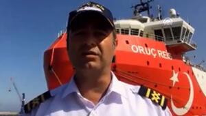MTA Oruç Reis gemisinin kaptanı Cankat Uzşen, AAya konuştu