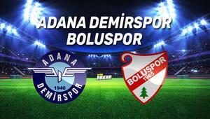 Adana Demirspor Boluspor maçı ne zaman, saat kaçta, hangi kanalda