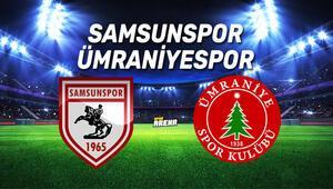 Samsunspor Ümraniyespor maçı ne zaman, saat kaçta, hangi kanalda