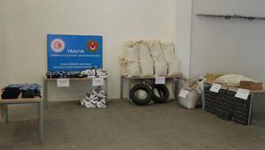 Kapıkule ve Hamzabeylide 4,5 milyon liralık uyuşturucu ele geçirildi