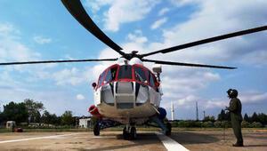 Bursada kural ihlallerine helikopterle denetim