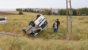 Hemşirenin çabası kazada ağır yaralanan kişiyi kurtarmaya yetmedi