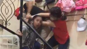 Dehşetin yeni görüntüsü Kızının çığlıkları yürek burktu: Bırak