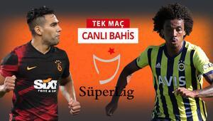 Son dakika | Derbinin iddaa oranları belli oldu Galatasarayın konuğu Fenerbahçe olacak...