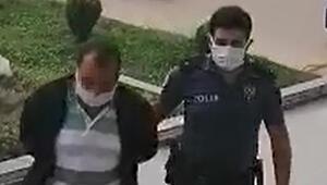 Durumu fark eden kadın şikayet etti Polis harekete geçti