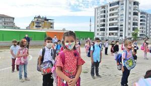 Elazığda eğitim-öğretim yılı koronavirüs tedbirleriyle başladı