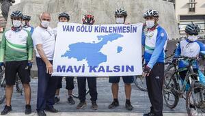 1200 kilometre pedalla Ankara'ya