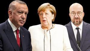 Cumhurbaşkanı Erdoğan, Merkel ve MIchel ile görüşüyor; üçlü zirvede Türkiye'nin üç şartı