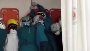 Ankarada berber dükkanında silahlı kavga Sağlık çalışanları mahsur kaldı