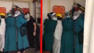 Son dakika haberler... Ankarada hastanedeki bu görüntülerin ardından Valilikten açıklama geldi