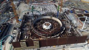 Akkuyu Nükleer Santralinde ikinci reaktör için çalışmalar bitti
