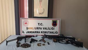 Şanlıurfa'da silah kaçakçılığına 2 gözaltı
