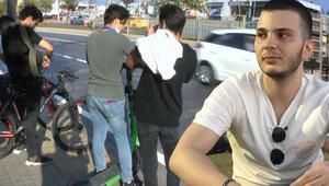 İstanbulda scooter ölümü 'Arkamı döndüğümde kuzenimi havada gördüm'