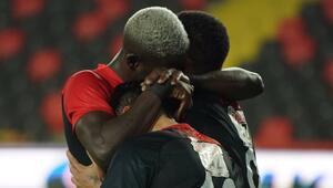 Gaziantep FK evinde kaybetmiyor Seri 8 maç oldu...