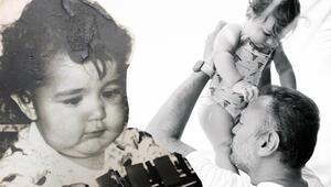Ali Sunalın yeni yaşını Gül Sunal böyle kutladı: Hiç delik yanaklı bebek görmemiştim