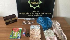 Tekirdağda uyuşturucu operasyonu: 3 gözaltı