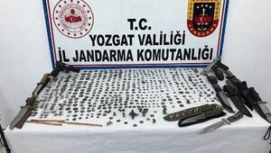 Yozgatta tarihi eser operasyonu: 1 gözaltı