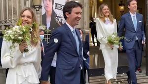 Bu kez Fransızca evet dedi: Düğün ertelendi, şimdilik nikah yaptılar