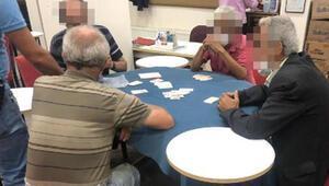 Kıraathanede koronavirüs tedbirlerine uymayan 9 kişiye 36 bin lira ceza
