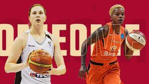 Basketbol Haberleri | Galatasaraydan 2 transfer Hruscakova ve Courtney Williams...