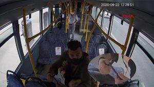 Son dakika... Bursada otobüste dehşet anları Maske kavgasında şoför yolcuyu bıçakladı