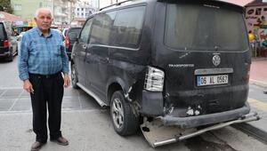 Drift atarken kaza yapan sürücüye 11 bin lira ceza