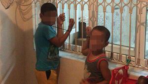 Son dakika haberleri... Adanada kan donduran olay Çocukları kaçırdı, pencere demirine bağladı