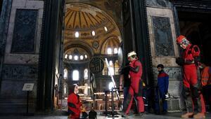 Ayasofya'daki yeni keşifler bilim dünyasıyla paylaşılacak