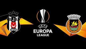 Beşiktaş, Rio Ave karşısında UEFA Avrupa Ligi 3. ön eleme turu...