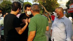 Polisin ceza yazdığı kişi, 5 dakika sonra yine maskesiz yakalandı