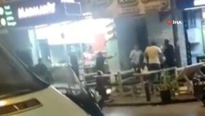 İstanbulda dehşet anları Döner bıçaklı, masalı ve sandalyeli kavga kamerada