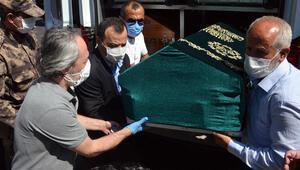 AYM Başkanı Arslanın kayınbabası toprağa verildi