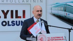 Bakan Karaismailoğlu: Yeni İpek Yolu'nun en önemli geçişi, bölgemizin lojistik süper gücü olacağız