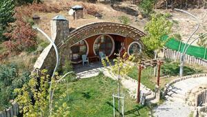 Sivasın Hobbit evleri pandemi sürecinde ilgi görüyor
