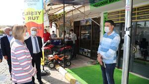 Nevşehir Valisi Becelden koronavirüs denetimi