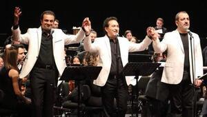 Üç Tenor ve Üç Soprano'dan çok sesli konser