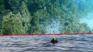 Van Gölünün derinliklerinde eski yerleşim yeri kalıntılarına rastlandı
