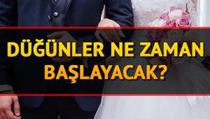 Son dakika: Düğünler ne zaman başlayacak, yasak devam ediyor mu İşte düğün yasakları olan illerin listesi