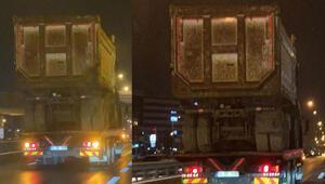 İstanbul trafiğinde tehlikeli yolculuk