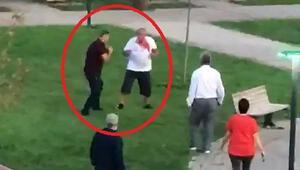 Son dakika haberler: Bursada akılalmaz anlar Önce çocuğa sonra babasına saldırdı... Kavga anı kamerada