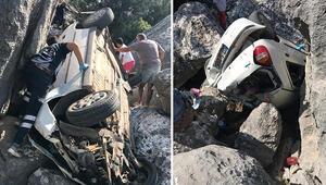 Antalyada feci kaza... Zamanla yarıştılar