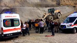 Erzurumda Kop Dağında yapımı süren tünelde patlama sonrası göçük