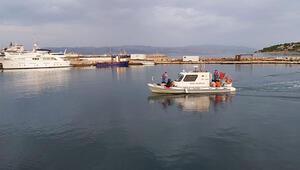 İzmirde Türk kara sularına geri itilen 10 sığınmacı kurtarıldı